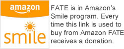 FATE is in the Amazon Smile program
