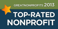 FATE is rated a 2013 Top Nonprofit organization